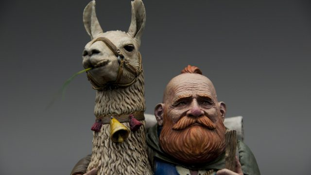 Dwarf & Llama